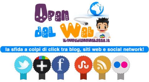 E' arrivato l'Open del Web! Clicca e scopri la sfida tra i social network!
