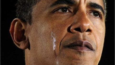 Le lacrime di Obama