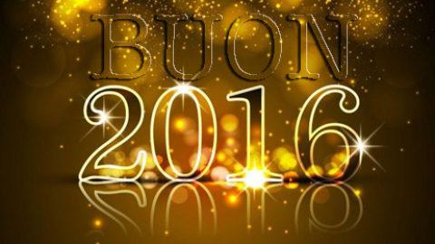 Il 2016 sarà cambiamento…