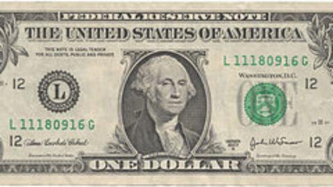 Un dollaro hai bisognosi.