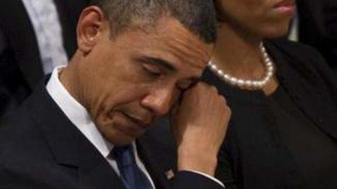 Le lacrime di un Presidente, le lacrime di un uomo