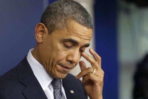Obama:anche i grandi uomini sanno commuoversi
