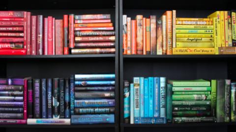 Books make me happy!