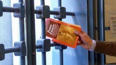 Libri no stop per detenuti.