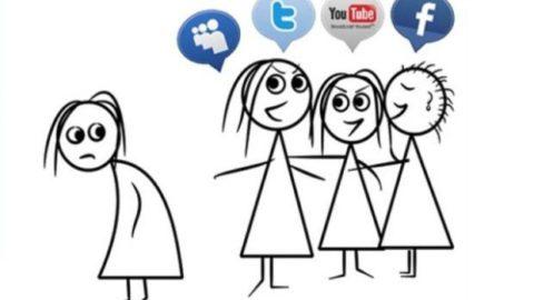 Gli adulti alle prese coi social network