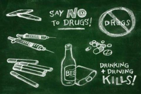 No alla droga, si alla vita!!