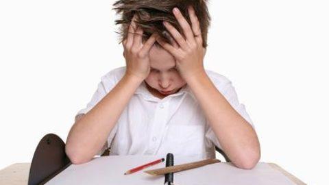 lo stress scolastico