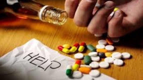 La dipendenza da droghe.